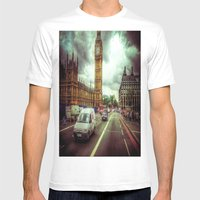Ben Mens Fitted Tee White SMALL