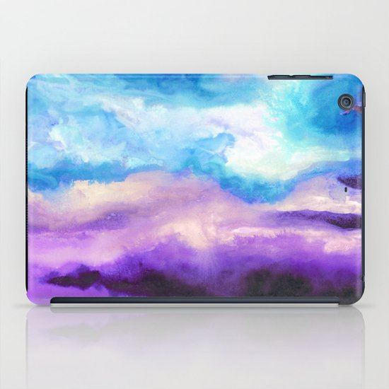 Noche Azul iPad Case