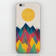 Uphill Battle iPhone & iPod Skin