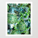 Sea Bling Art Print