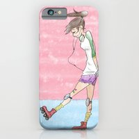 iPhone & iPod Case featuring Derby Chick by Kassidy Daussin