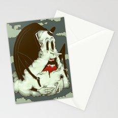 Creep Cloud Face Melt Stationery Cards