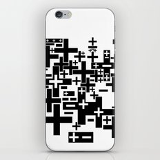 PLUS/MINUS iPhone & iPod Skin