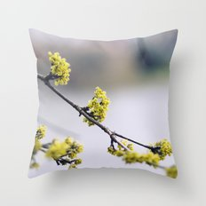 Every flower is a soul blossoming in nature Throw Pillow