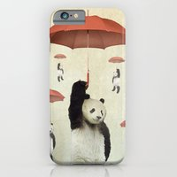 iPhone & iPod Case featuring Pandachutes by vin zzep