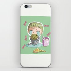 don't wanna grow up iPhone & iPod Skin