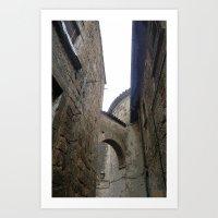 Orvieto Arches Art Print