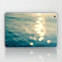 Blurred Tides Laptop & iPad Skin