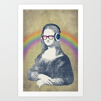 Modern Lisa Art Print