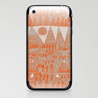 Evening On The High Past… iPhone & iPod Skin