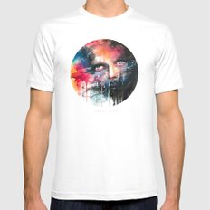 non parlarne mai Mens Fitted Tee SMALL White