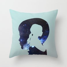 He Wished So Hard Throw Pillow