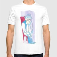 Abra Cadabra Mens Fitted Tee White SMALL