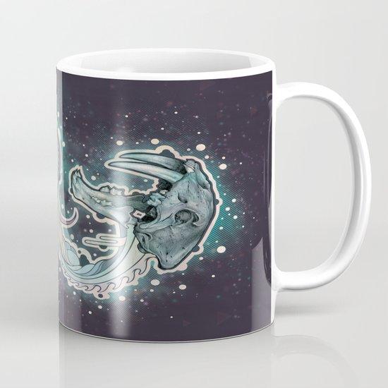 Saber-toothed Serpent in Space. Mug