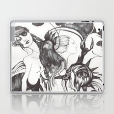 Retrato de Sirena Laptop & iPad Skin