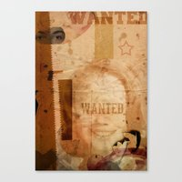 LOLITA:WANTED// Canvas Print