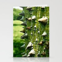 Spiked Tree (Film) Stationery Cards