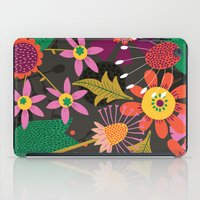 Jungle Flowers iPad Case