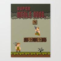 Super Merle Bros. Canvas Print