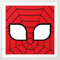 Adorable Spider Art Print