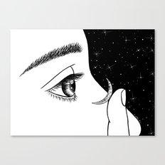 Contact Canvas Print