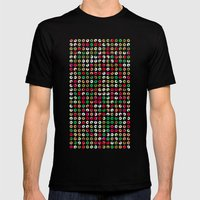 Do Nuts ! Mens Fitted Tee Black SMALL