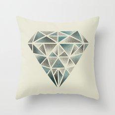 Rough Diamond Throw Pillow