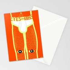Eyes on Knees Stationery Cards