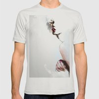 Pi C Mens Fitted Tee Silver SMALL