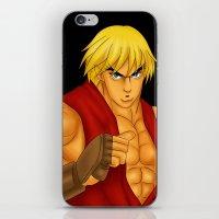Ken Street Fighter iPhone & iPod Skin