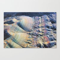 Evening Flight Over the Martian Lines Canvas Print