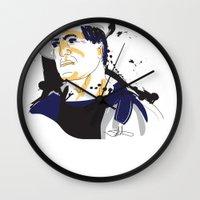 Rocky Balboa_INK Wall Clock