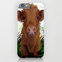 cow iPhone & iPod Cases featuring cow by Vector Art