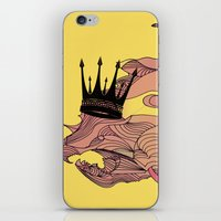 Wild Royal Pig iPhone & iPod Skin