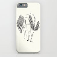 iPhone & iPod Case featuring White horse by Rilke Guillén