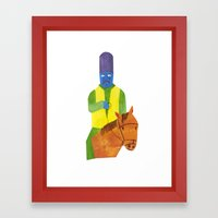 There Was An Old Man Of … Framed Art Print