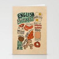 English Breakfast Stationery Cards