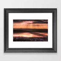 Dundee Railway Bridge Framed Art Print