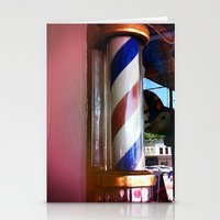 BARBERSHOP Stationery Cards