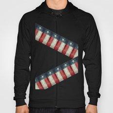 Retro style Texas state flag pattern Hoody