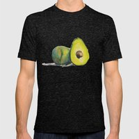 Avocados Mens Fitted Tee Tri-Black SMALL
