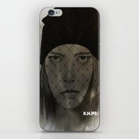 Mystery Girl iPhone & iPod Skin