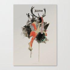 Natura Canvas Print