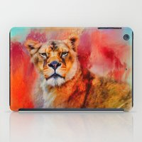 Colorful Expressions Lio… iPad Case