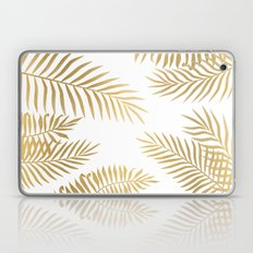 Gold palm leaves Laptop & iPad Skin
