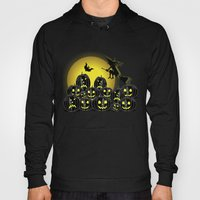 Pumpkins And Witch In Fr… Hoody