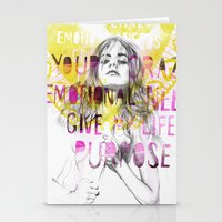 Give Me Purpose  Stationery Cards
