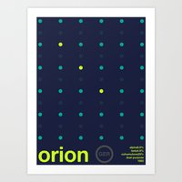 Orion Single Hop Art Print