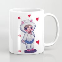 Valentine Kitty Nomz Mug