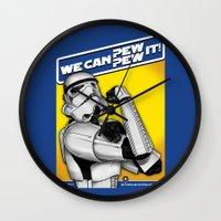 Stormtrooper: 'WE CAN PE… Wall Clock